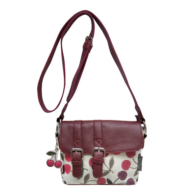 'Fruit Tree' Cherry Themed Small Hand Bag By Disaster Designs