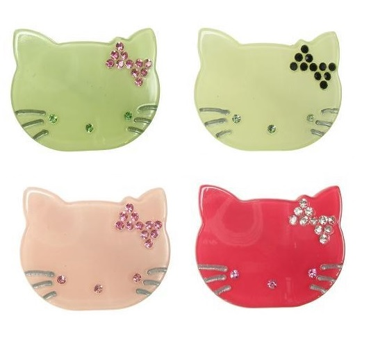 BIG BABY Kitty Cat Brooch/Pin