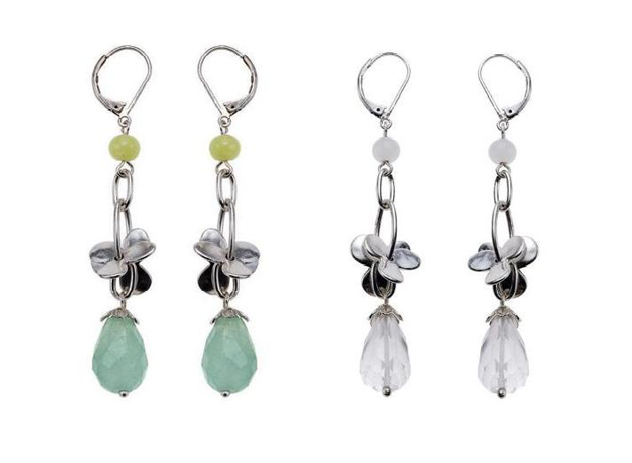 Bohm Love Birds Quartz Drop Earrings