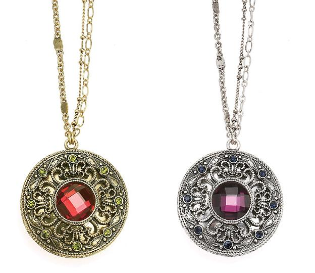 The Bohm - Wild Flower - Long Length 'Locket' Necklace