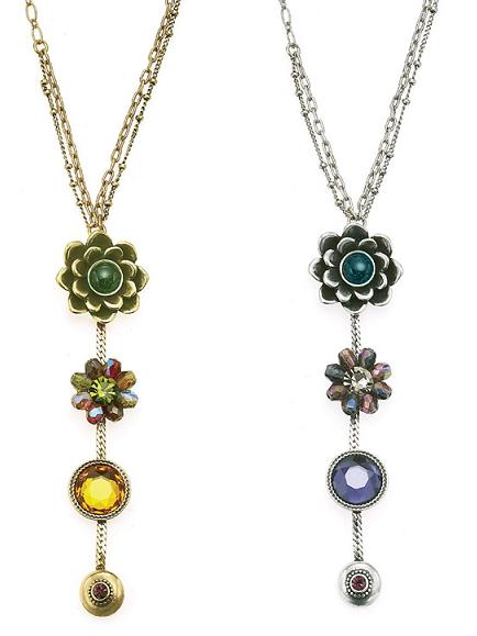 The Bohm - Wild Flower - Pendant Necklace