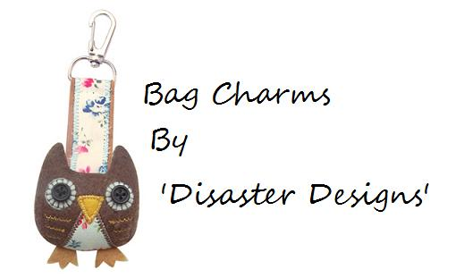 Bag Charms By Disaster Designs