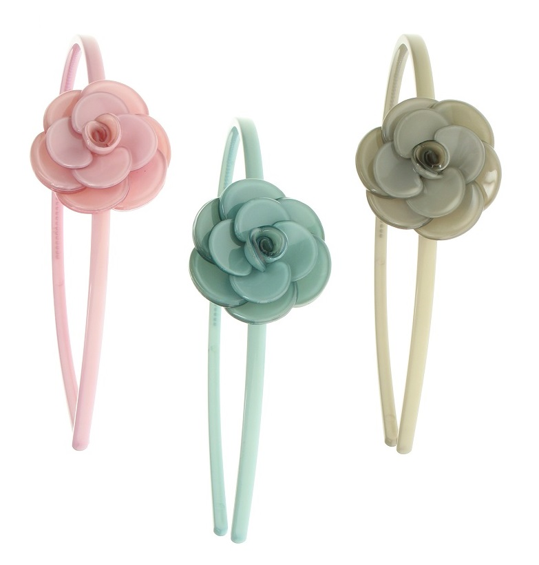 BIG BABY Rose Thin Hair Band - Colour Set  2