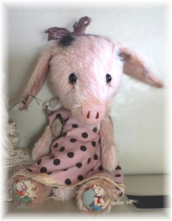 Teacup - Little Piglet Sister to Teapot