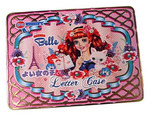 'Tokyo Belle' Letter Case - Tin & Contents