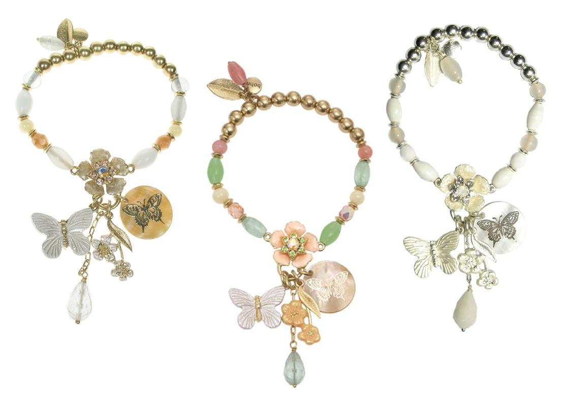 Bohm Garden of Eden Stretch Bracelet