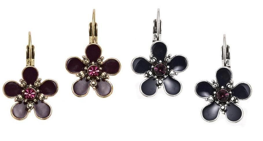 Bohm Autumn Woodland Flower Earrings