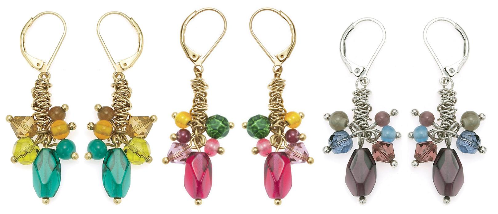 The Bohm Arcadian Opulence Cluster Earrings