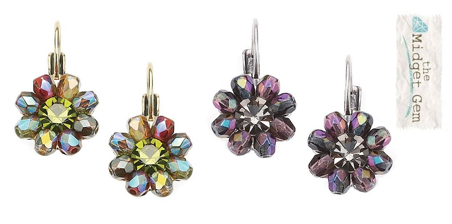 The Bohm - Wild Flower - Flower Beaded Earrings