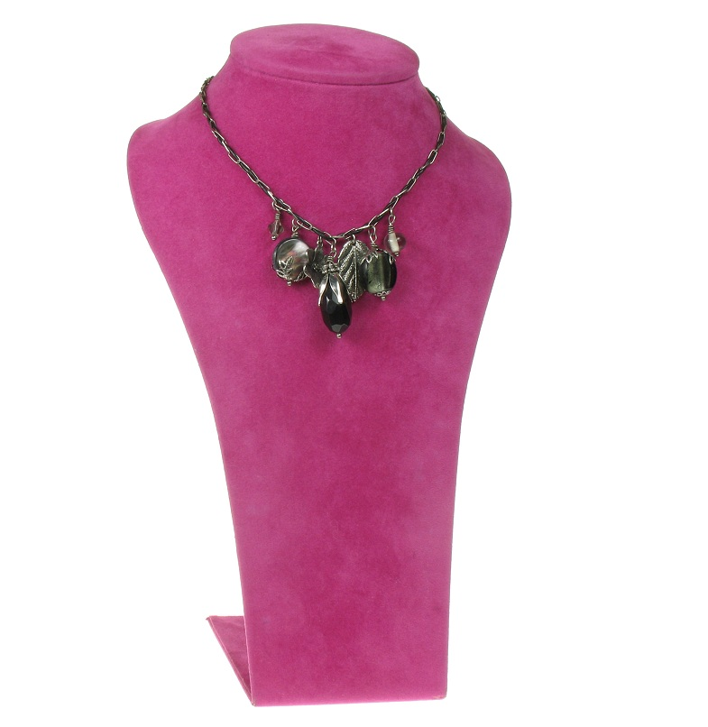 The Bohm - Autumn Leaves - Charm Necklace