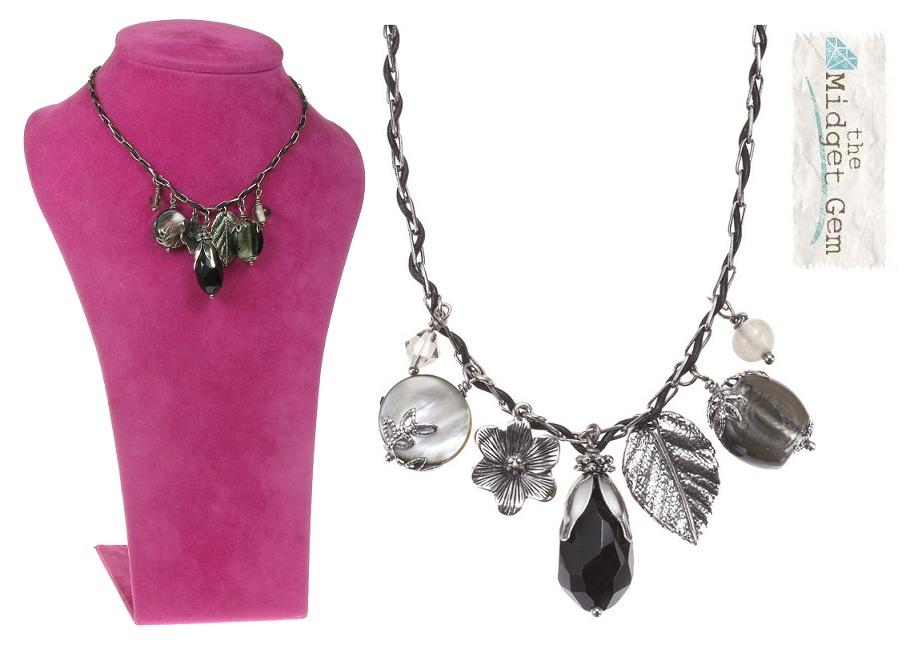 The Bohm - Autumn Leaves - Charm Necklace