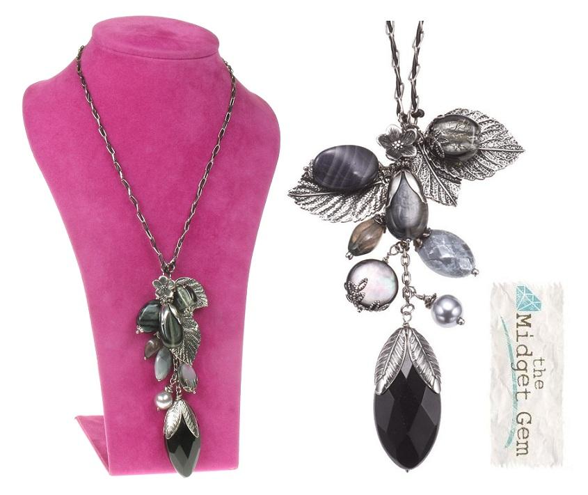 The Bohm - Autumn Leaves - Long Pendant Necklace