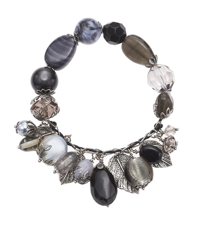 The Bohm - Autumn Leaves - Stretch Charm Bracelet