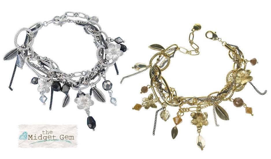 Bohm Multi Stranded In Chains Charm Bracelet