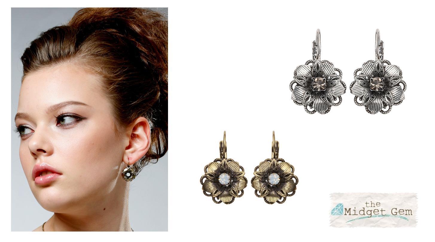 Bohm Vogue Flower Earrings
