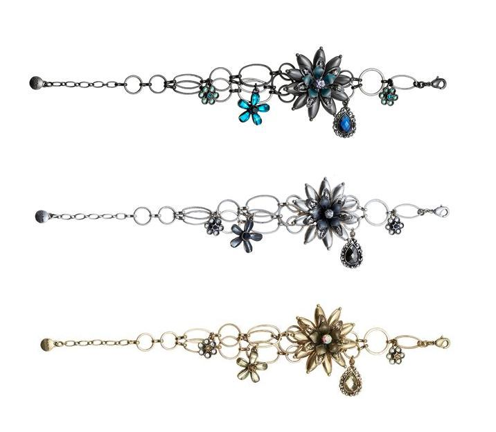 Bohm Vogue Flower Jewel Bracelet