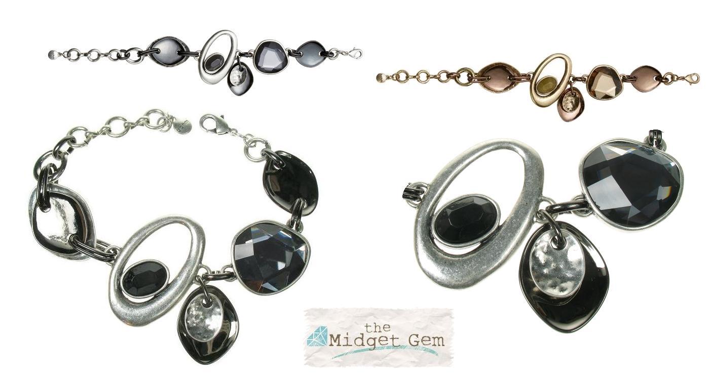 The Bohm Asymmetrical Jewels Adjustable Jewel Bracelet