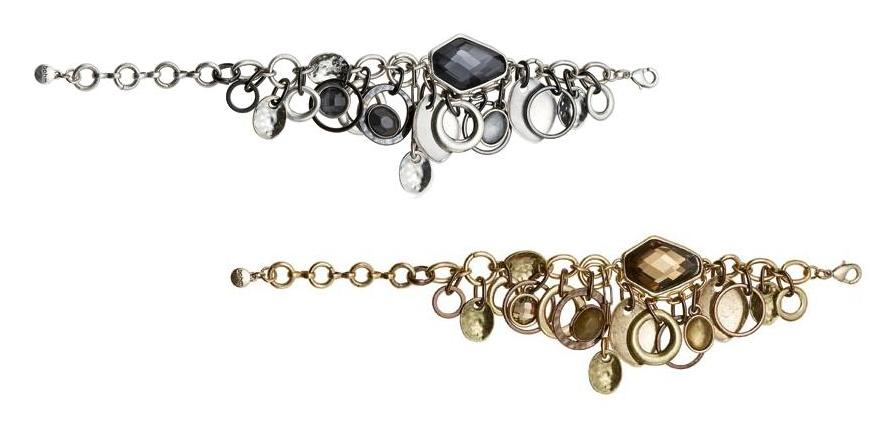 The Bohm Asymmetrical Jewels Adjustable Jewel Charm Bracelet