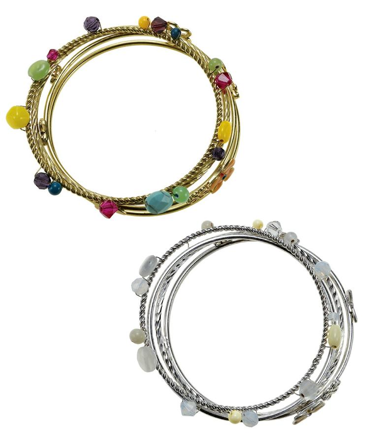 The Bohm Delicate Trinkets Set 4 Bangles