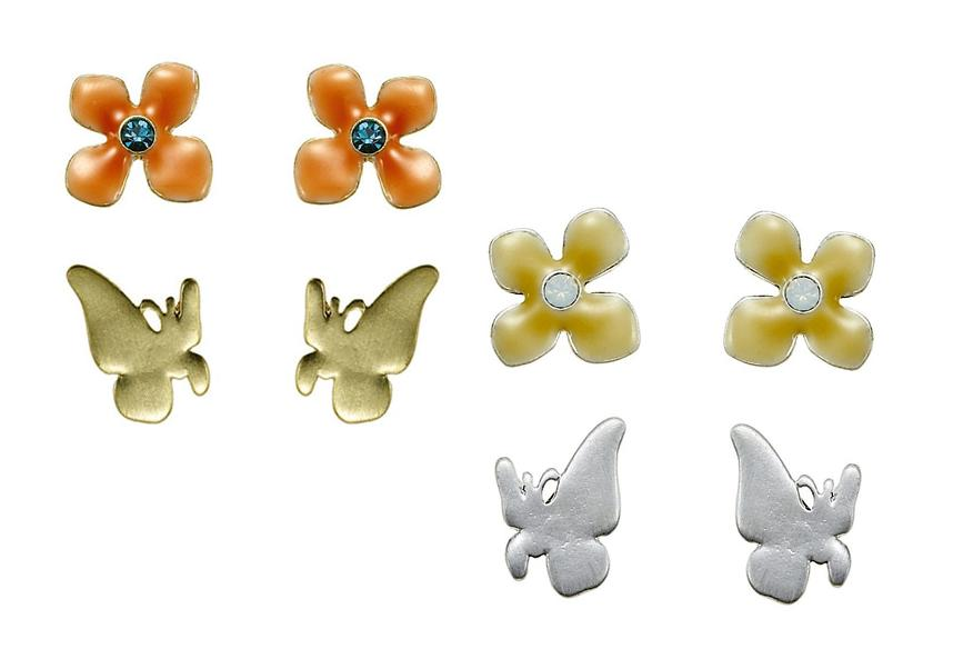 The Bohm Delicate Trinkets Stud Earrings x 2 Pairs