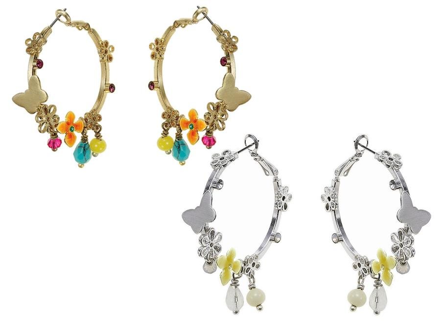 The Bohm Delicate Trinkets Hoop Earrings