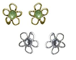 The Bohm Delicate Trinkets Flower Stud Earrings