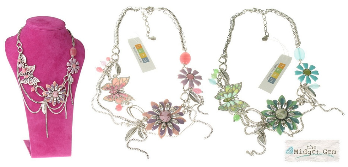 The Bohm Picturesque Butterfly Elaborate Necklace
