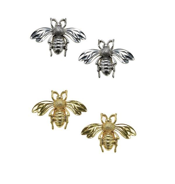 BOHM - Paradise - Bee Stud Earrings BNWT