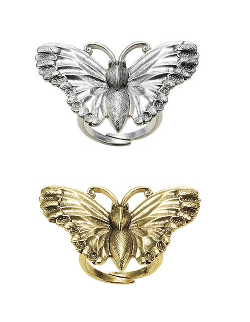 The Bohm Paradise Adjustable Butterfly Ring