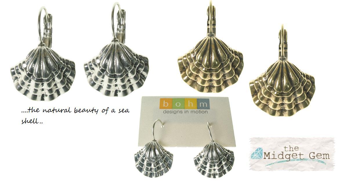 Beach Comber Sea Shell Earrings - Bohm