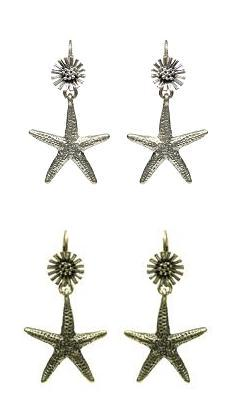 Beach Comber Starfish Earrings - Bohm