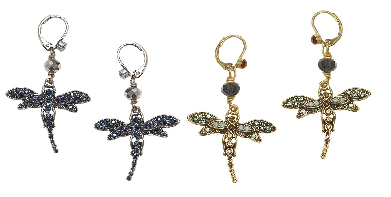 Enchantment Dragonfly Earrings
