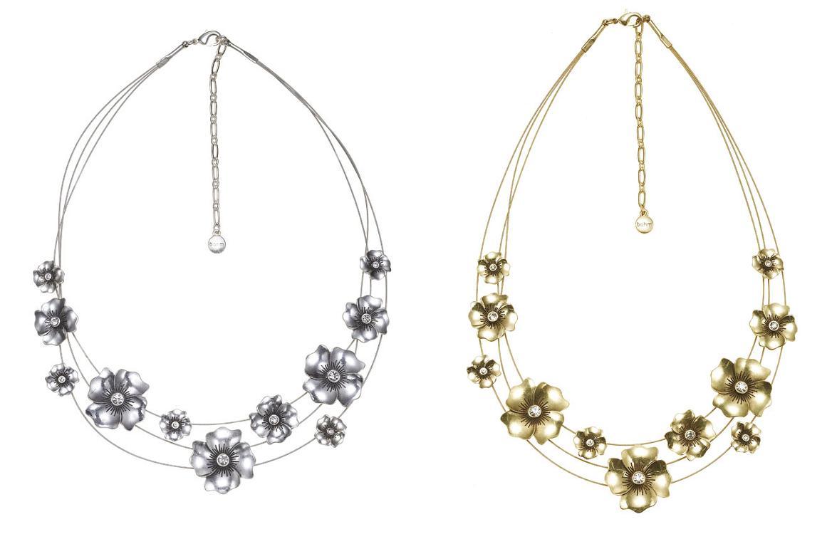 Bohm Pretty Petal Multi-Strand Necklace