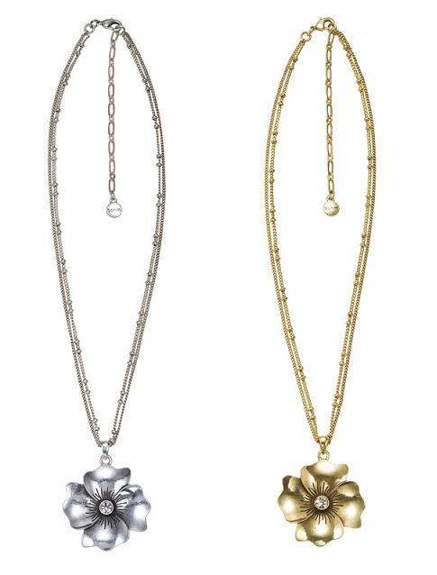 Bohm Pretty Petals Single Pendant Necklace