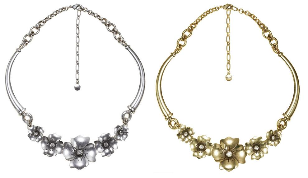 Bohm Pretty Petals Collar Necklace