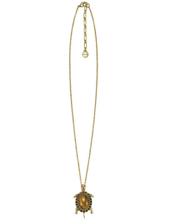 The Bohm - TURTLE Cosmo Sense - Pendant Necklace - Gold Plate