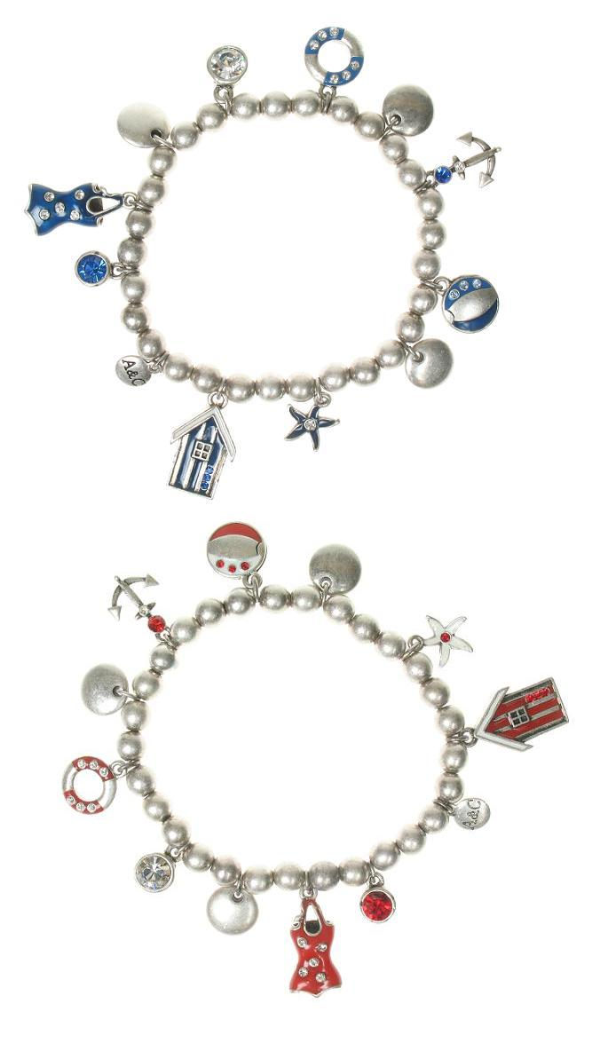 A & C Beach House Charm Bracelet