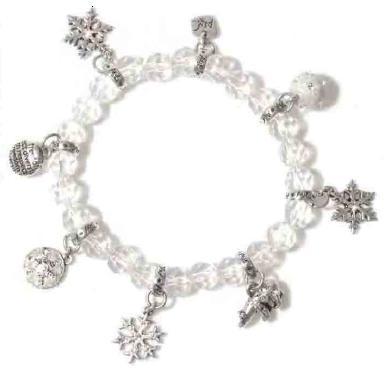 A & C Winter Dream Crystal Stretch Bracelet