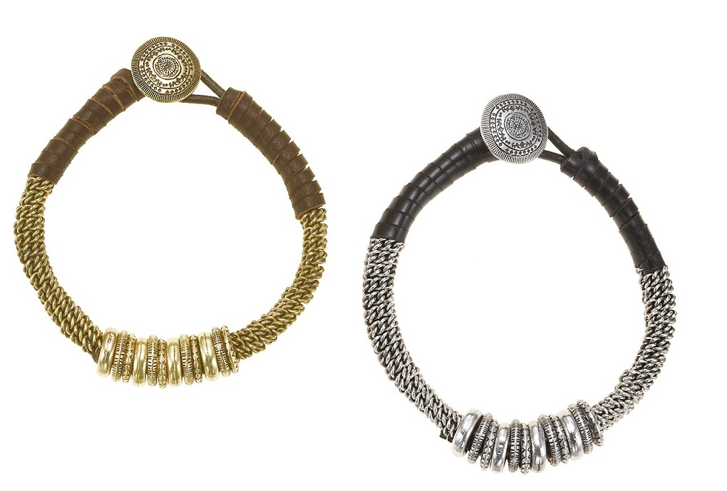 The Bohm - Labyrinth - Bound Ring Bracelet