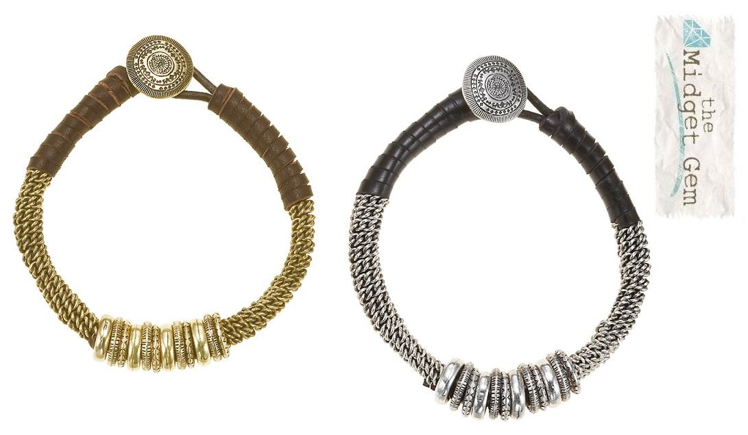 The Bohm - Labyrinth - Bound Ring Bracelet