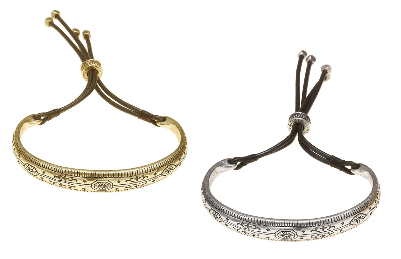 The Bohm - Labyrinth - Impressed Design Bangle