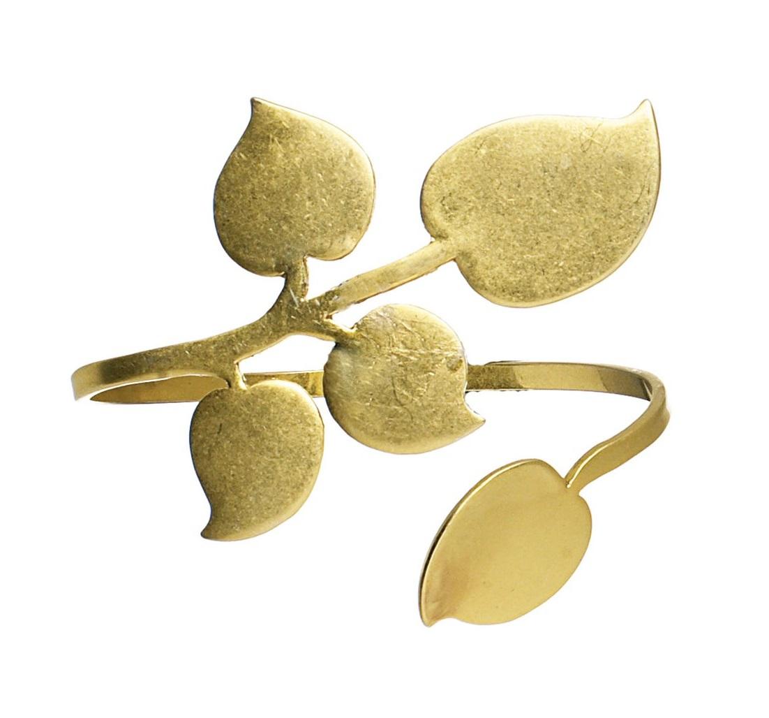 PILGRIM - Patina - Wrist Cuff Bracelet - Gold Plate BNWT