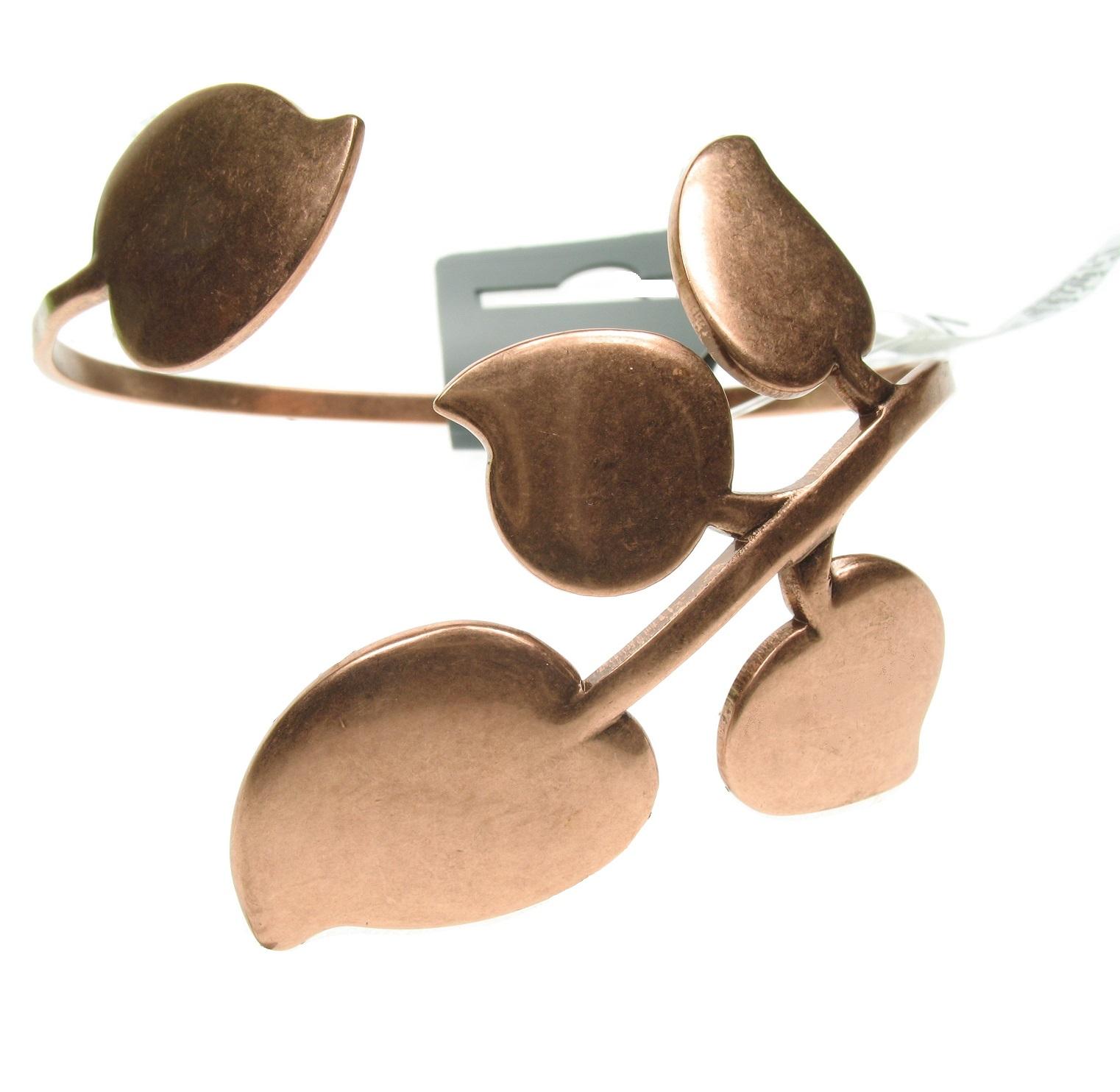 PILGRIM - Patina - Wrist Cuff Bracelet - Copper BNWT