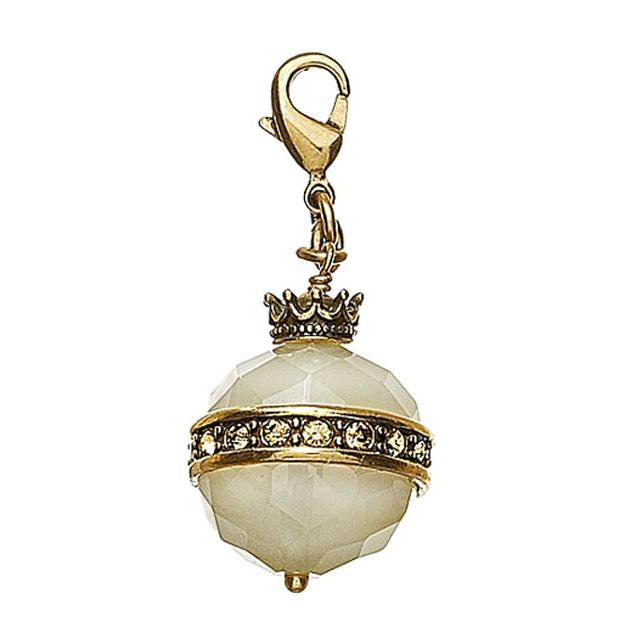 Pilgrim Charm Imperial Sceptre  - Brown/Gold