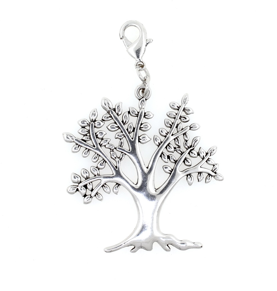 PILGRIM - MEGA- Clasp on Charm - Tree of Life - BNWT