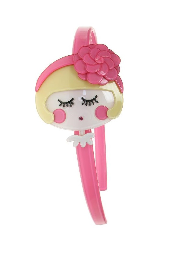 BIG BABY Flower Power Girl Hair Head-Band