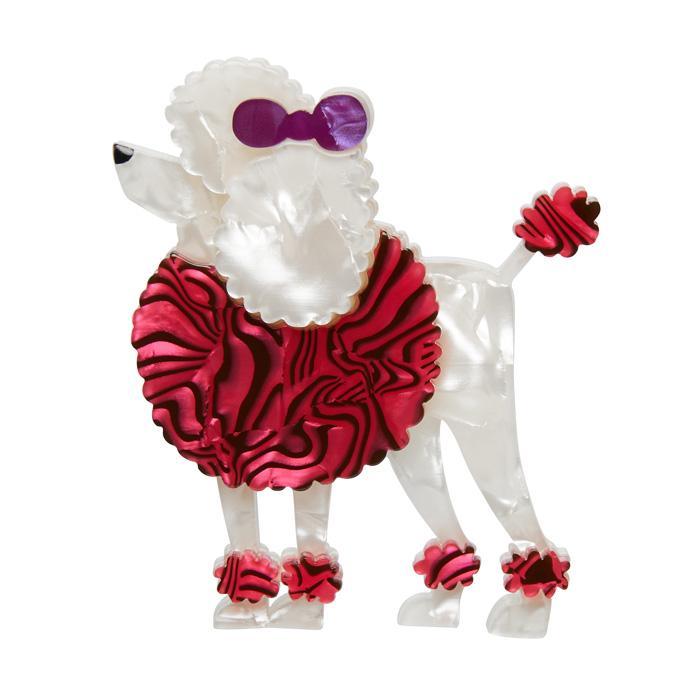 Madame Amore - Erstwilder French Poodle Dog Brooch