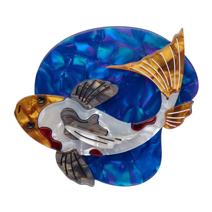 Nishikigoi - Erstwilder Koi Carp Fish Brooch
