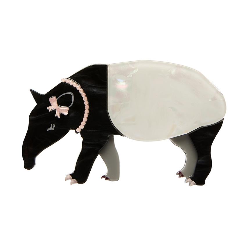 Tabitha the Tapir - Erstwilder South American Socialite Brooch