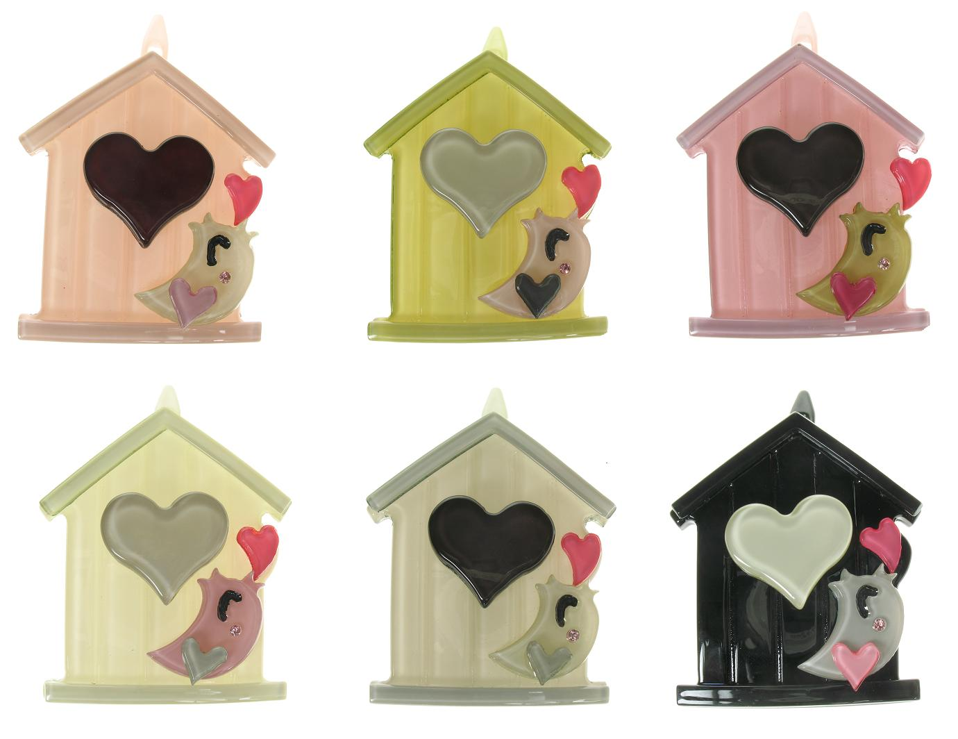 BIG BABY Bird House Hair Clip/Slide